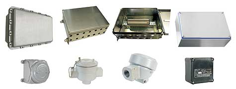 image for explosion proof junction boxe, terminal boxe and device